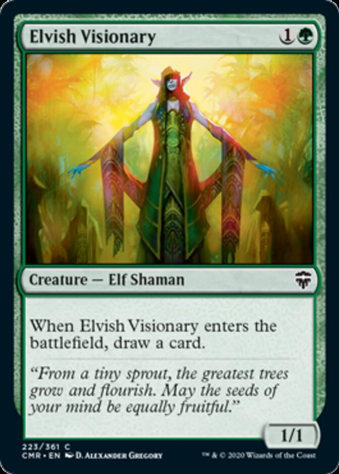 Elvish Visionary [CMR]