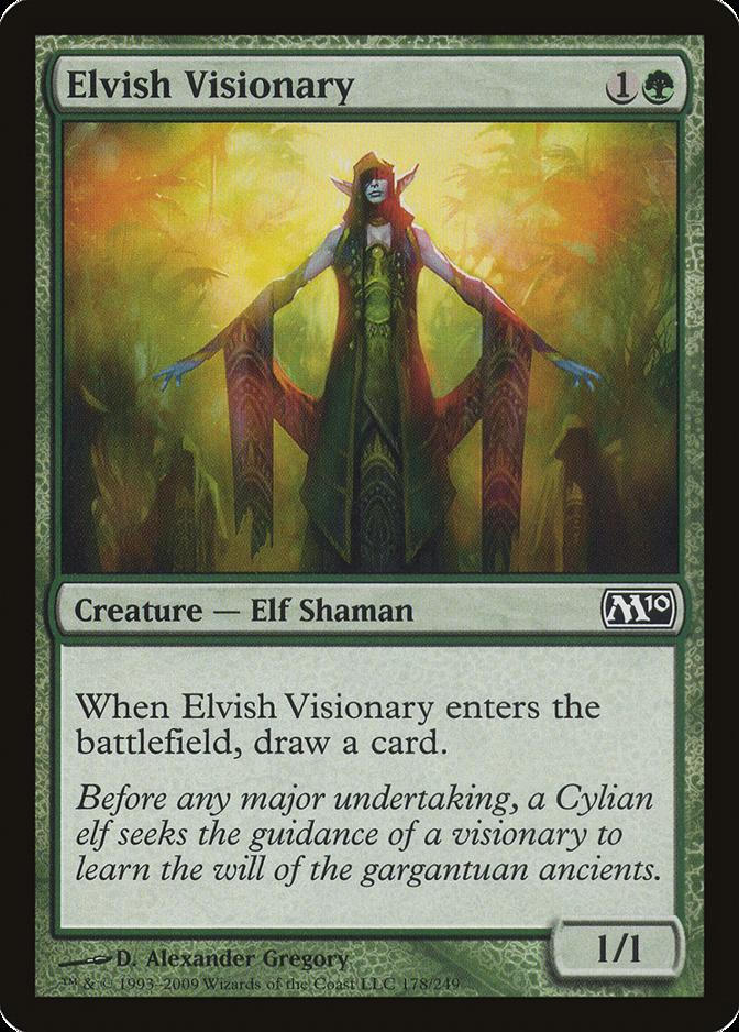 Elvish Visionary [M10]