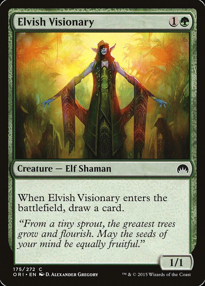 Elvish Visionary [ORI] (F)