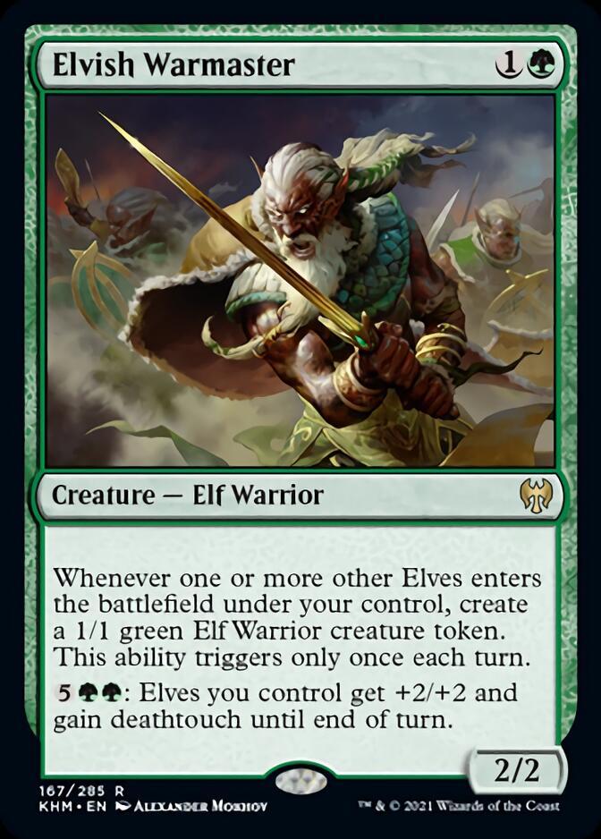 Elvish Warmaster [KHM]