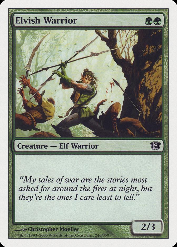 Elvish Warrior [9ED]