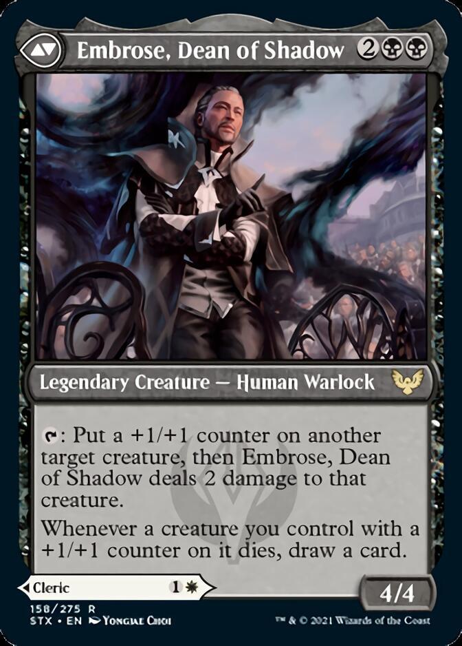 Embrose, Dean of Shadow [STX]