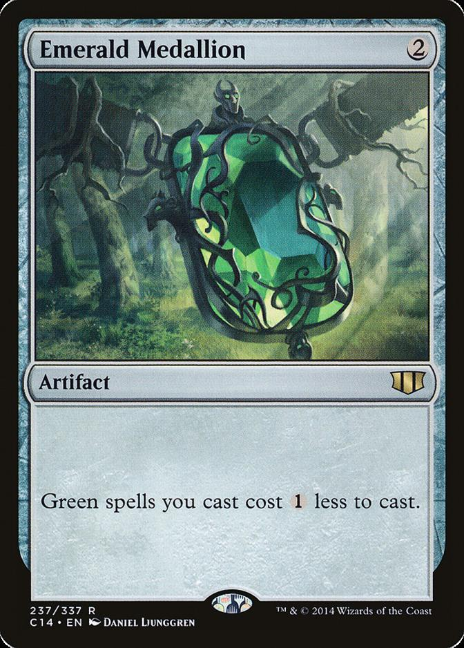 Emerald Medallion [C14]