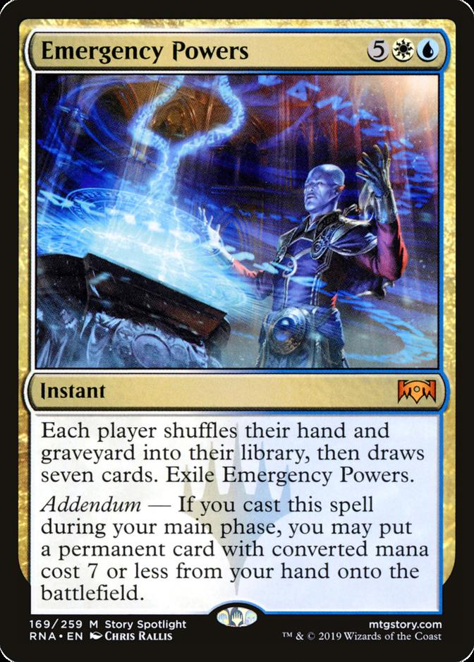 Emergency Powers [RNA]