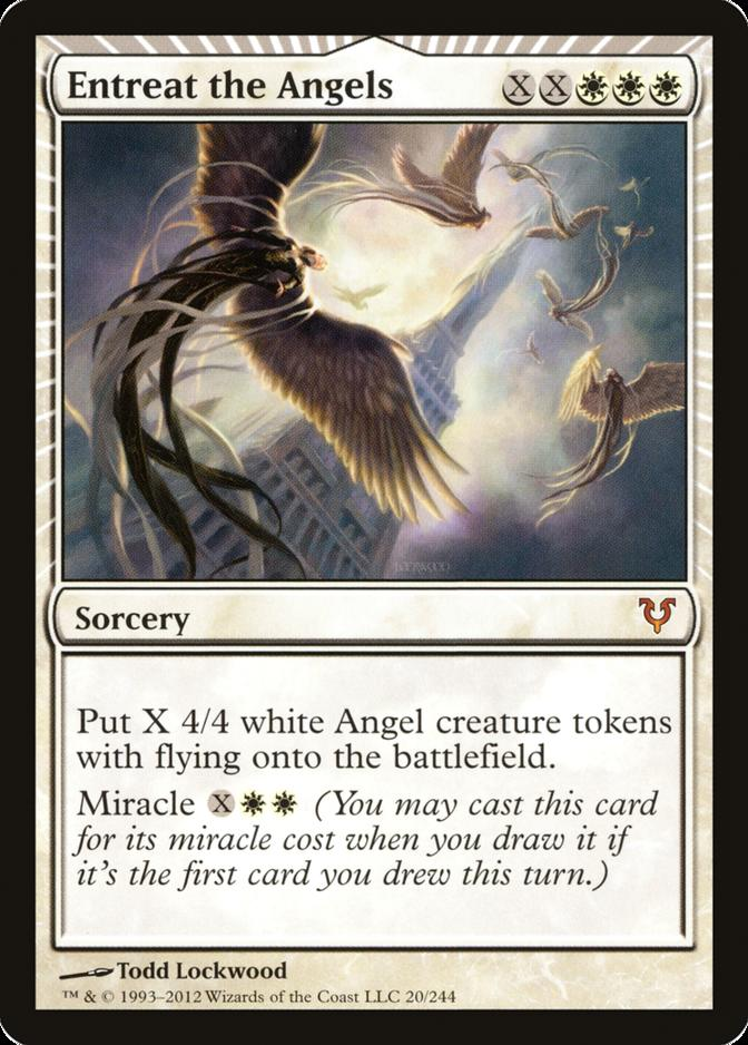 Entreat the Angels [AVR] (F)