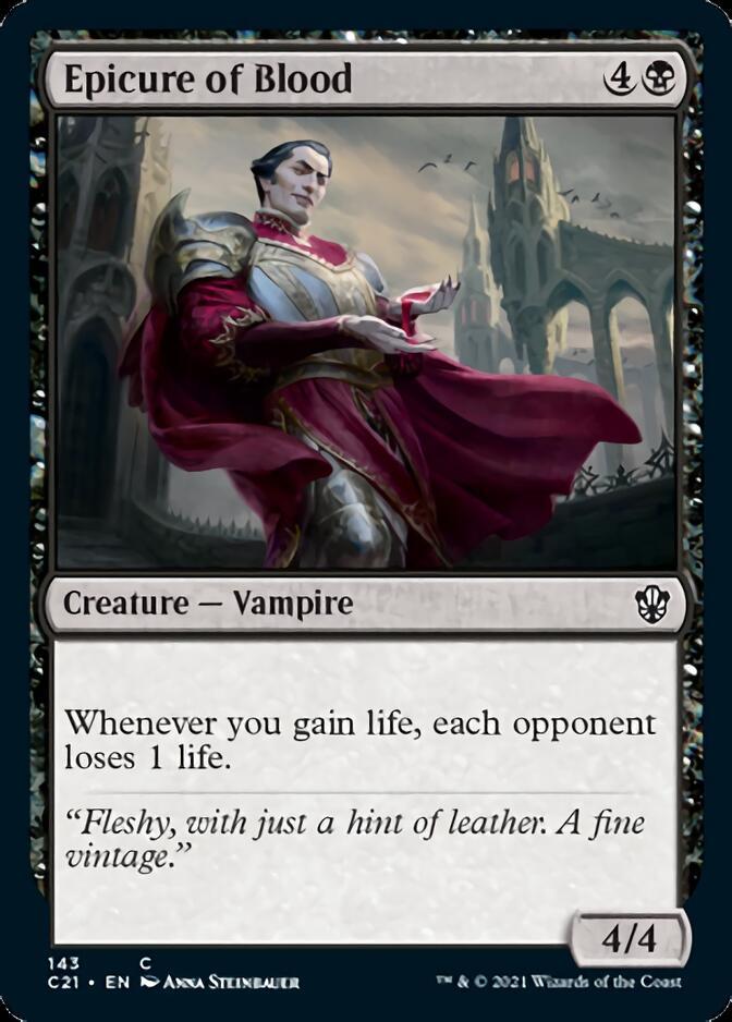 Epicure of Blood [C21]