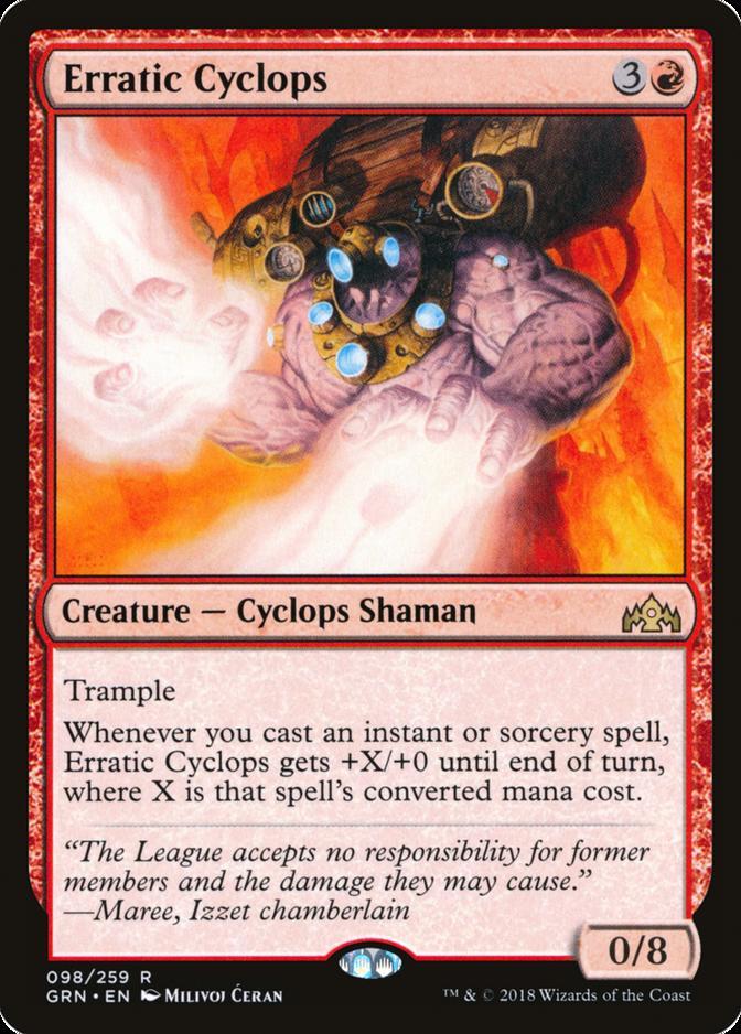 Erratic Cyclops [GRN]