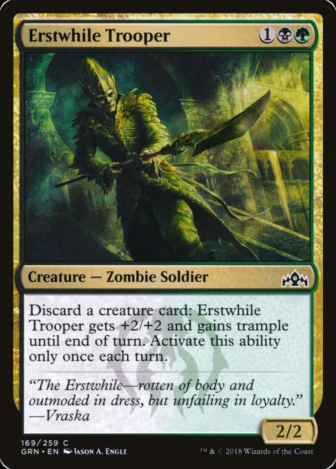 Erstwhile Trooper [GRN]