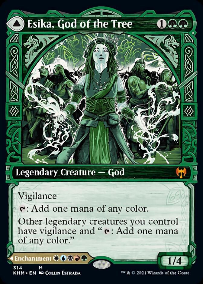 Esika, God of the Tree <showcase> [KHM]