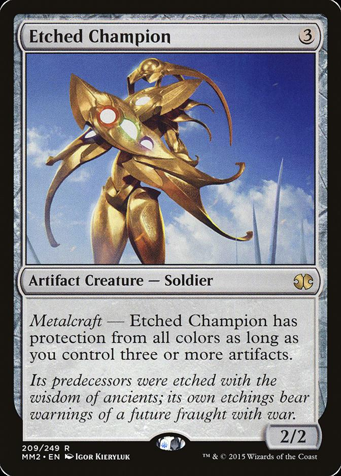 Etched Champion [MM2] (F)