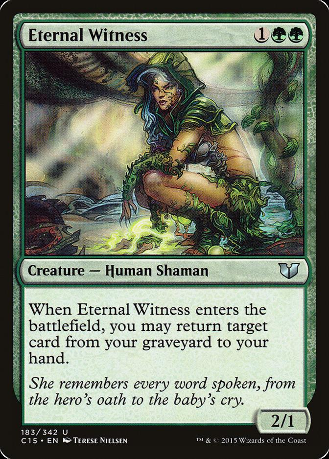 Eternal Witness [C15]