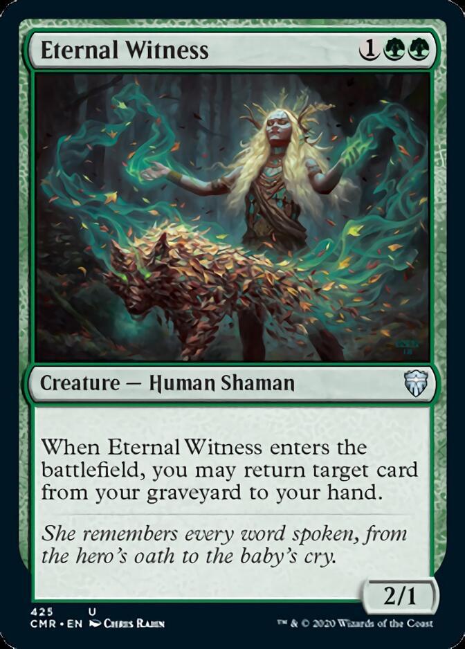 Eternal Witness [CMR]