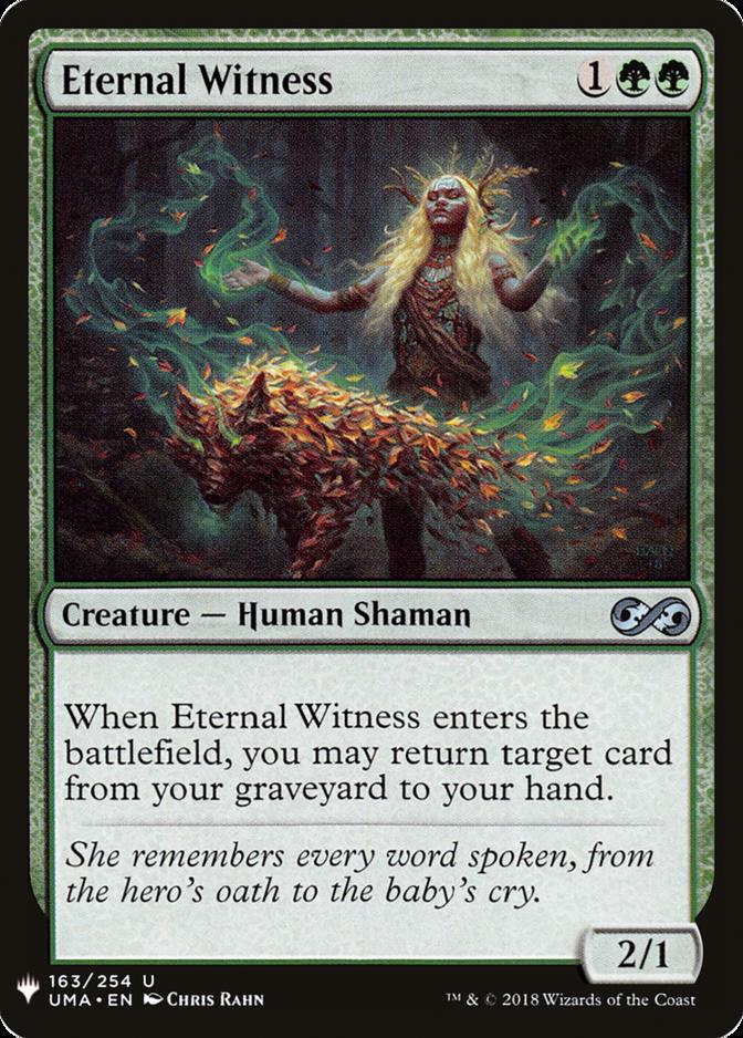 Eternal Witness [MB1]