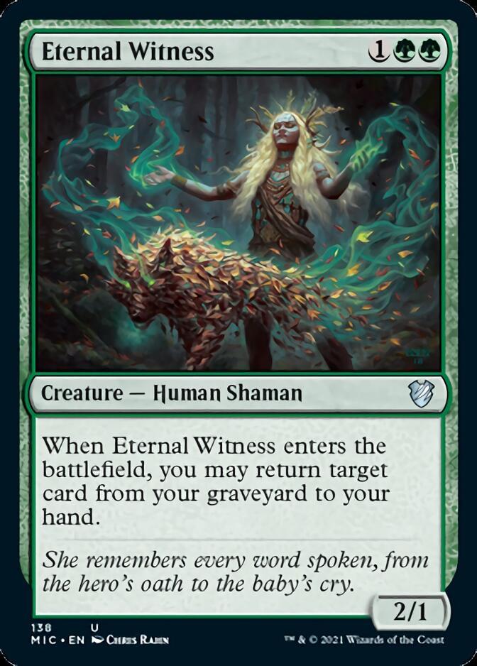Eternal Witness [MIC]