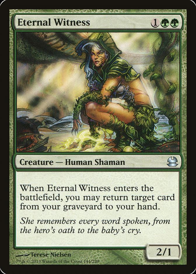 Eternal Witness [MMA] (F)