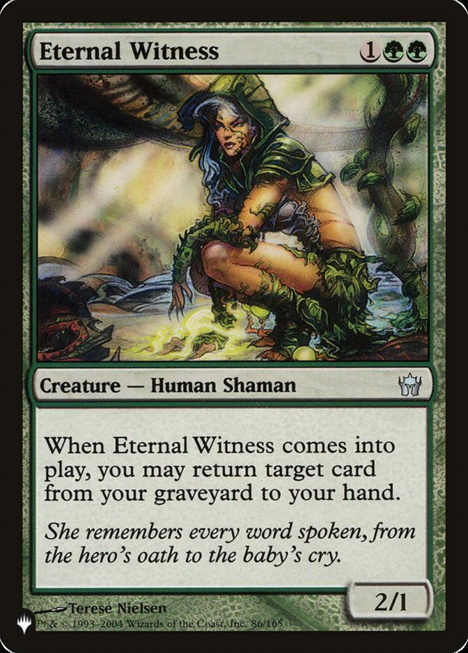 Eternal Witness [PLIST]