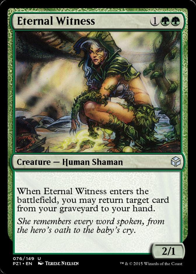 Eternal Witness [PZ1] (F)