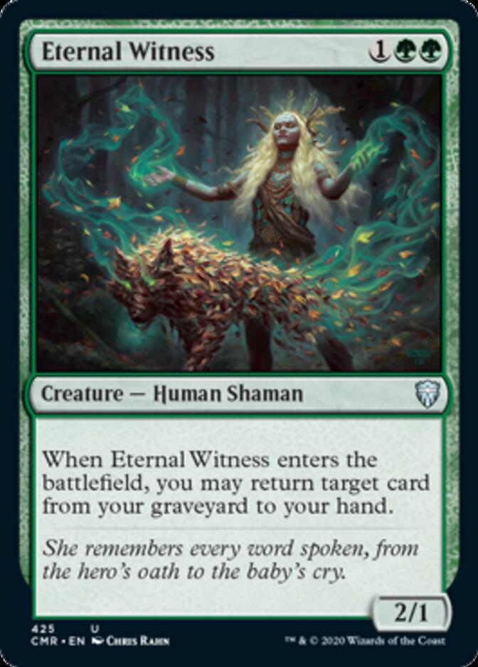 Eternal Witness <precon> [CMR]