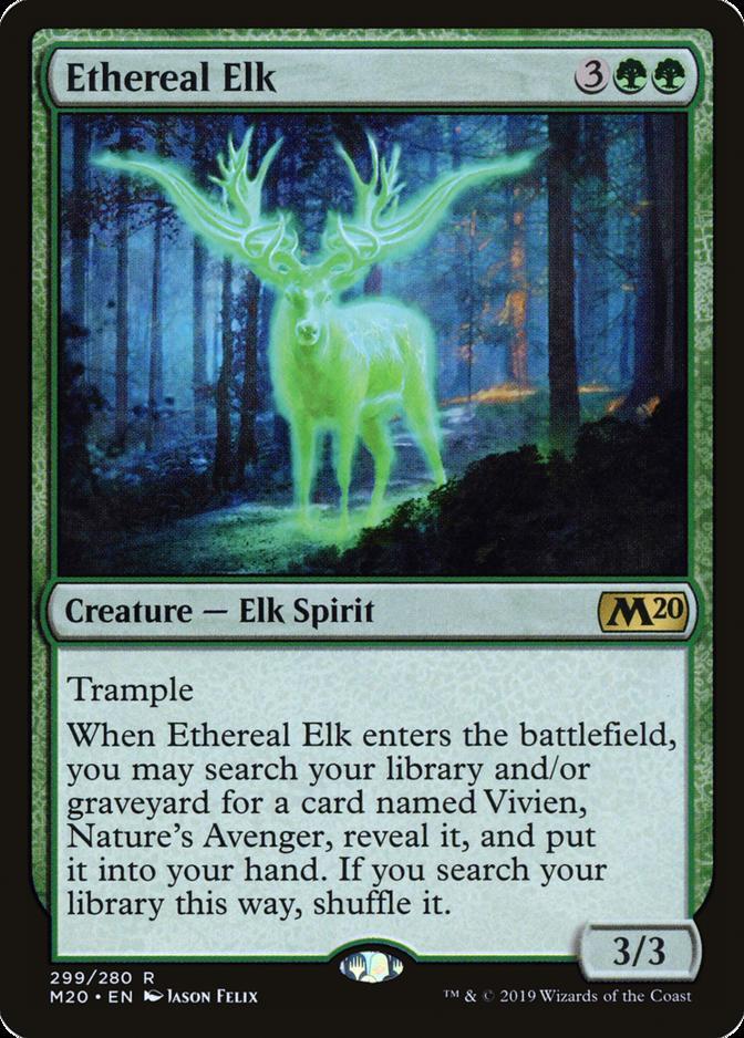 Ethereal Elk [M20]