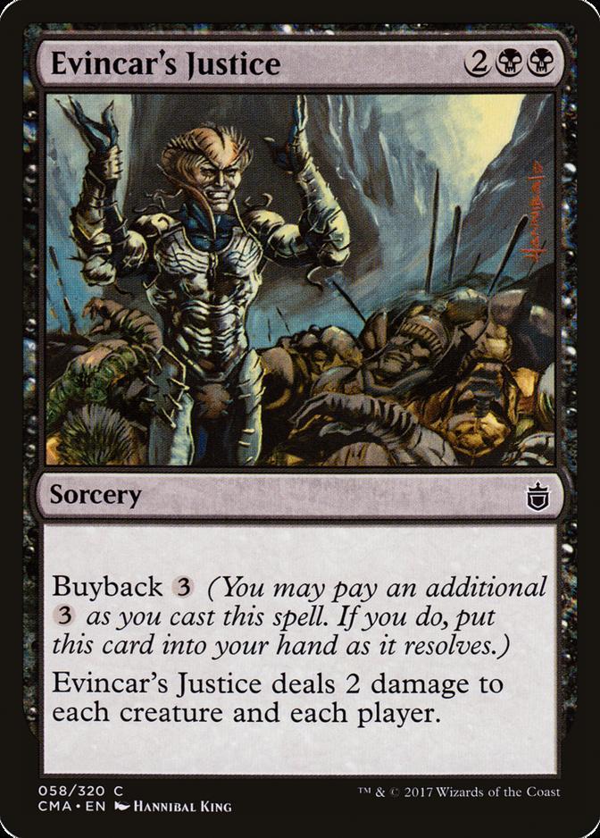Evincar's Justice [CMA]