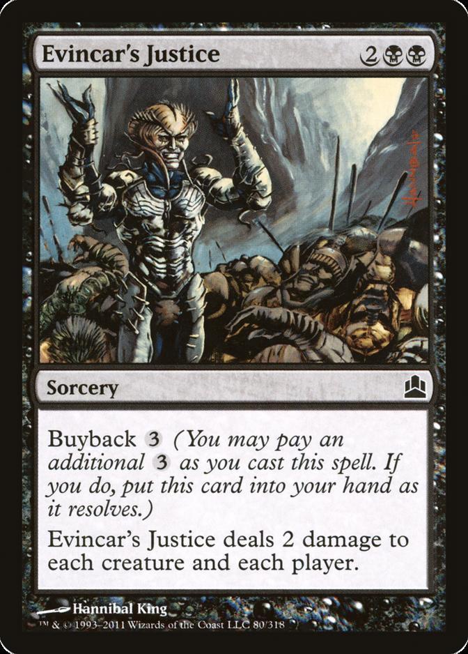 Evincar's Justice [CMD]