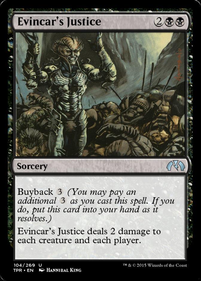 Evincar's Justice [TPR]