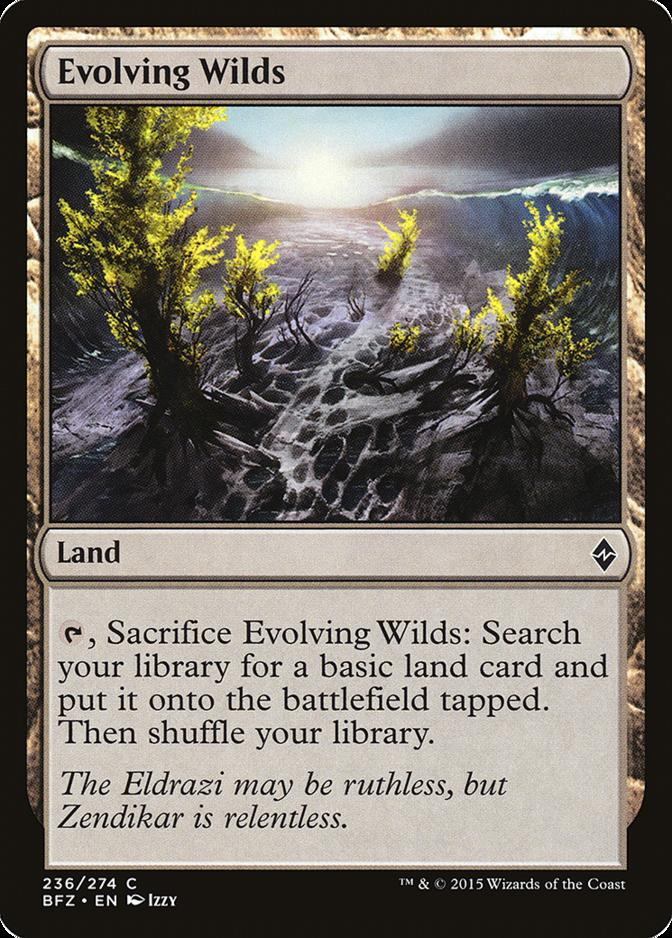 Evolving Wilds [BFZ]