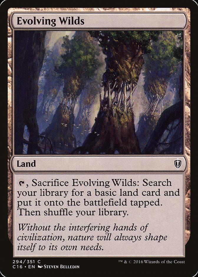 Evolving Wilds [C16]