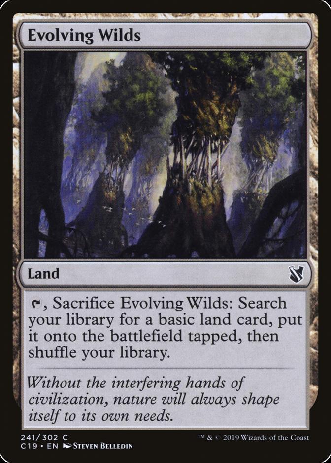 Evolving Wilds [C19]
