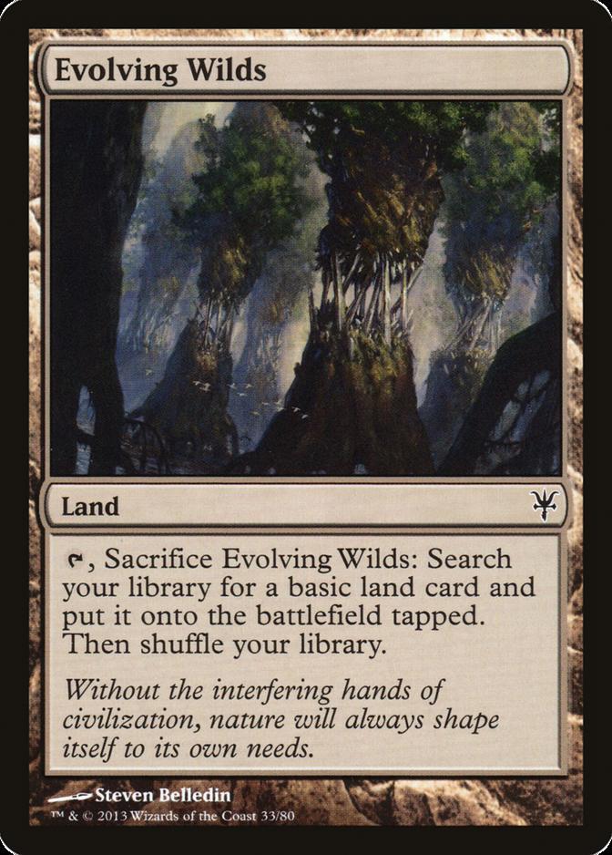 Evolving Wilds [DDK]