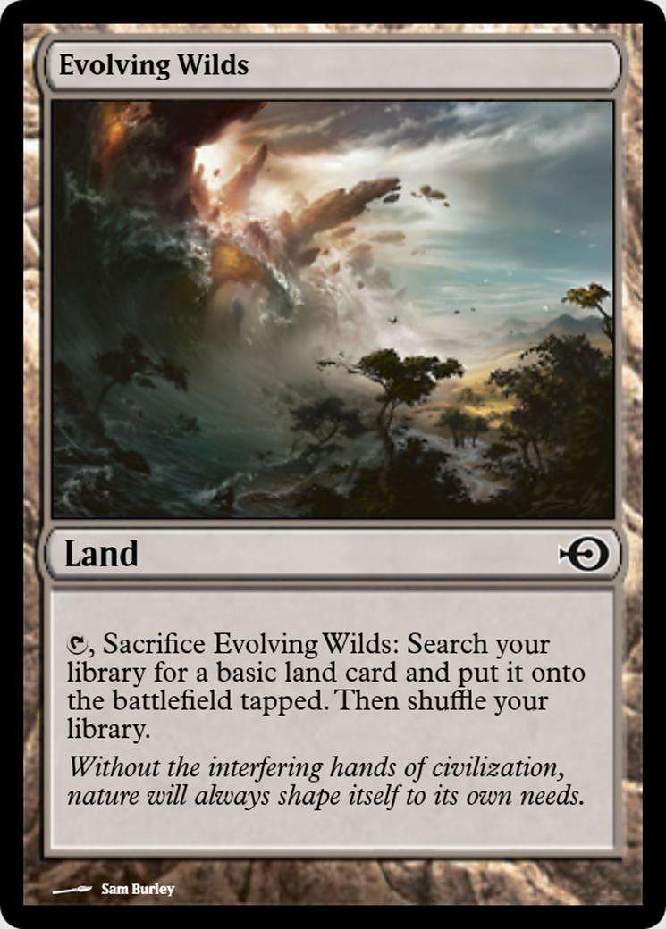 Evolving Wilds [PRM] (F)