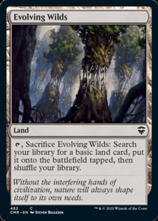 Evolving Wilds <precon> [CMR]