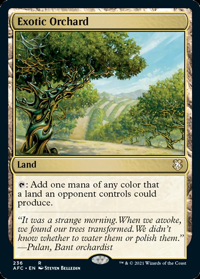 Exotic Orchard [AFC]
