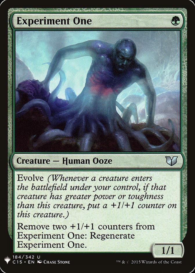 Experiment One [MB1]