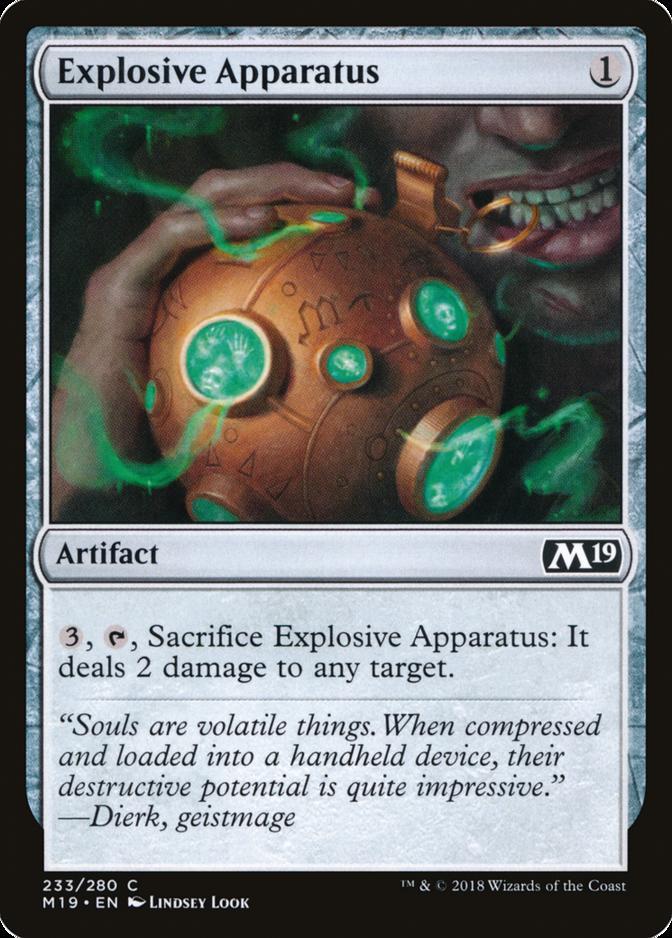 Explosive Apparatus [M19] (F)