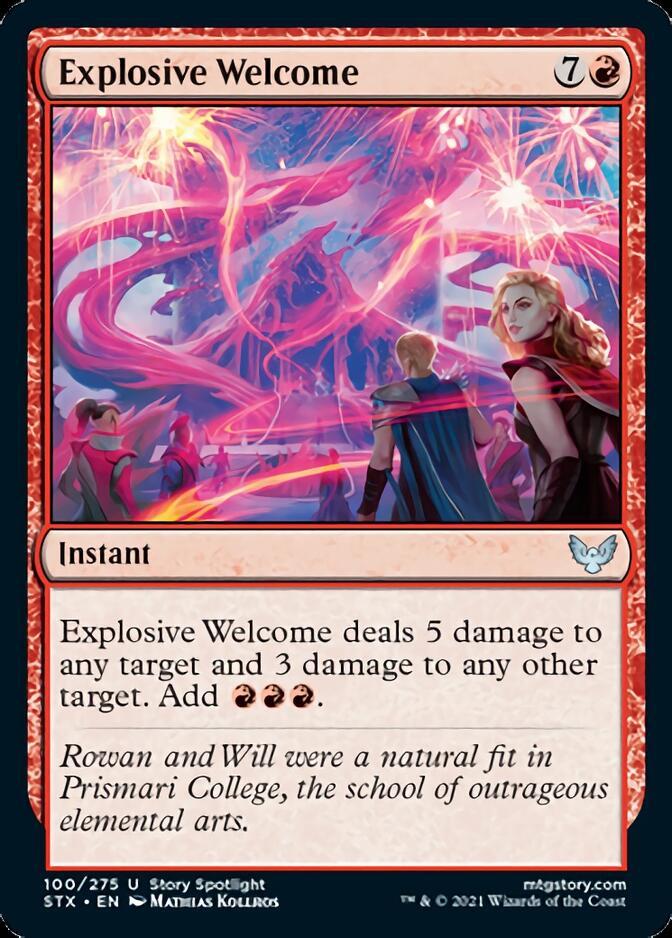 Explosive Welcome [STX]