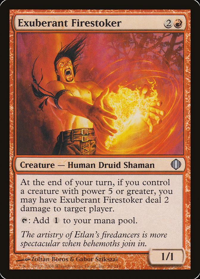 Exuberant Firestoker [ALA]