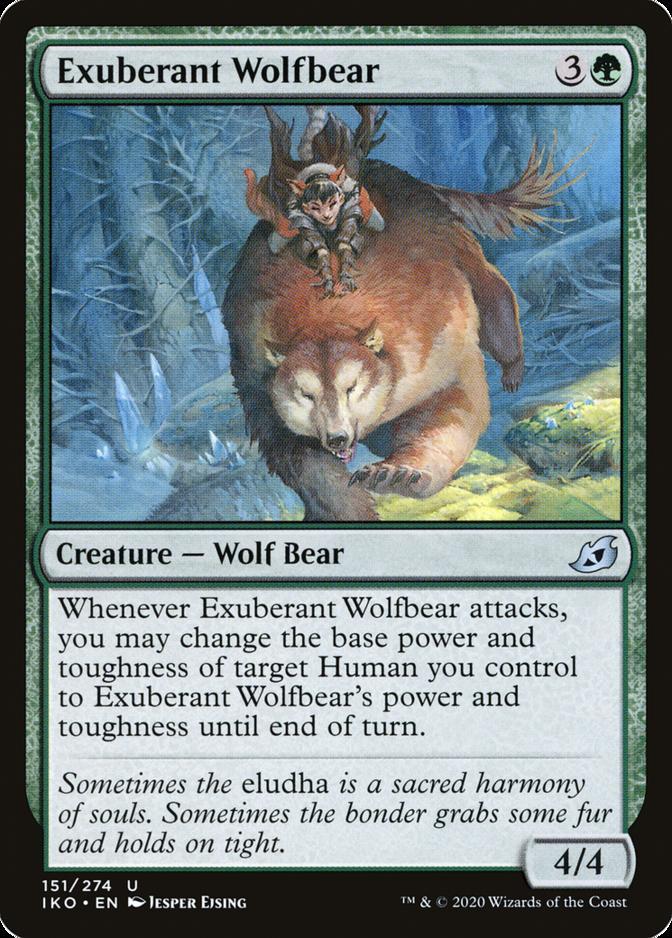 Exuberant Wolfbear [IKO]