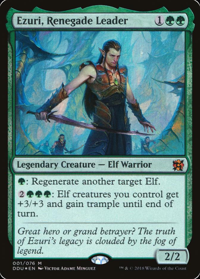 Ezuri, Renegade Leader [DDU] (F)