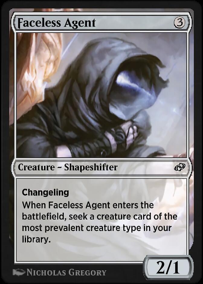 Faceless Agent [J21]