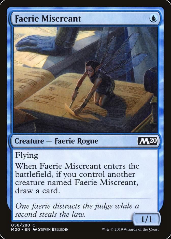 Faerie Miscreant [M20]