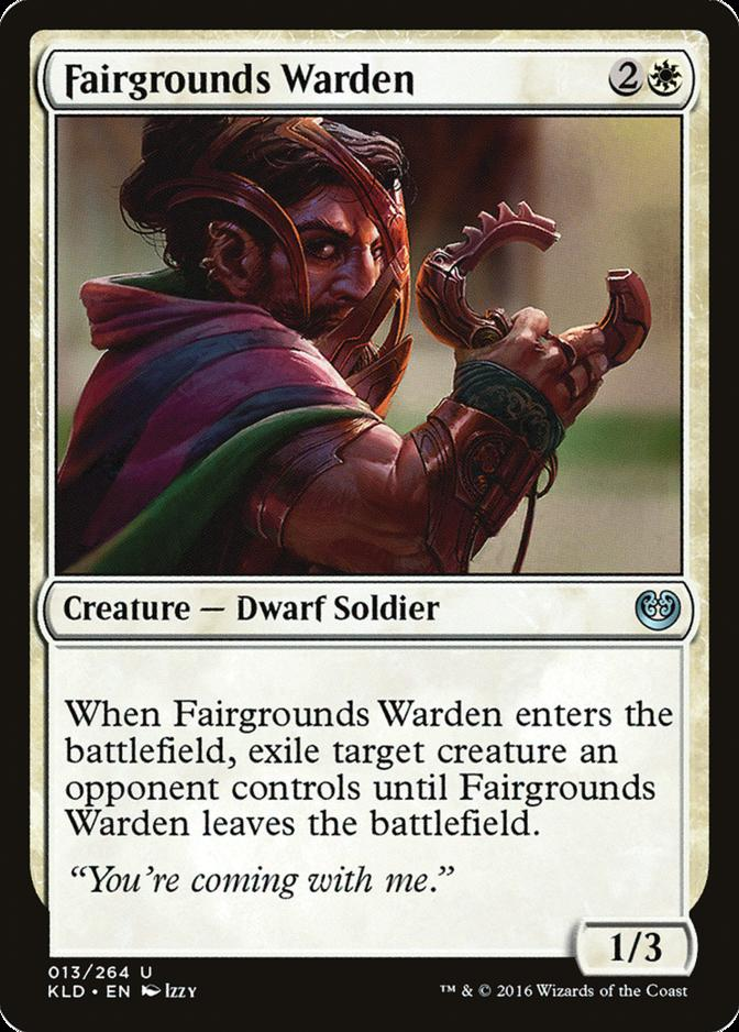 Fairgrounds Warden [KLD]