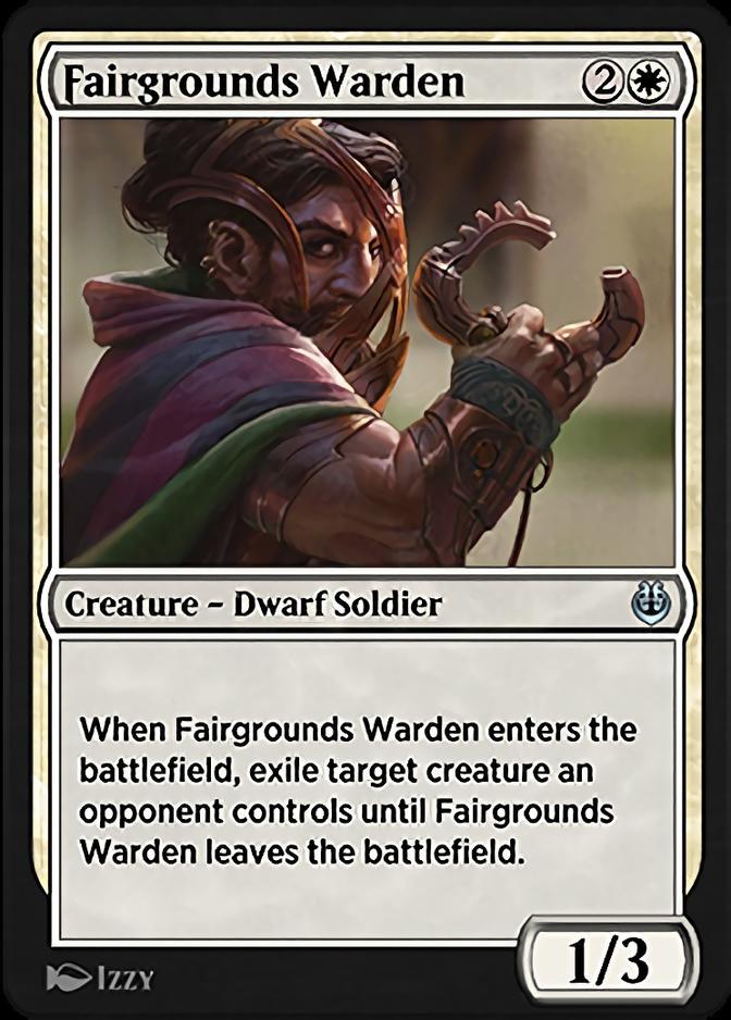 Fairgrounds Warden [KLR]