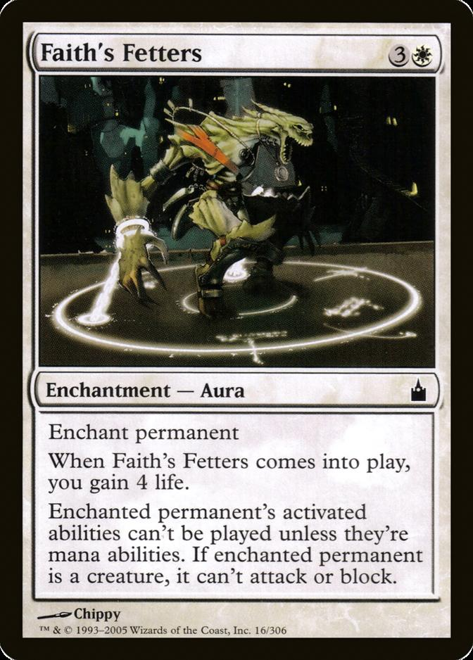 Faith's Fetters [RAV]