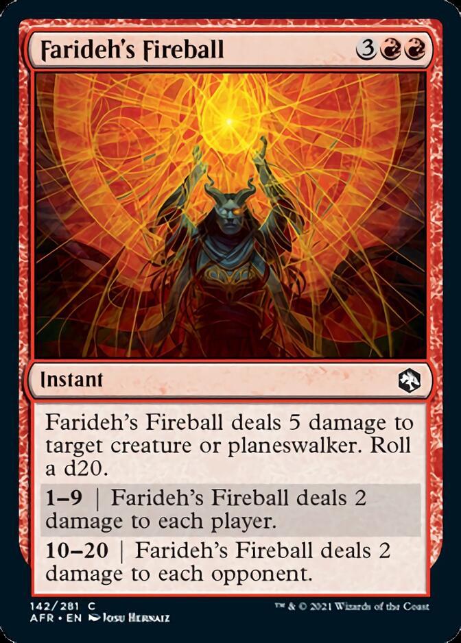 Farideh's Fireball [AFR]
