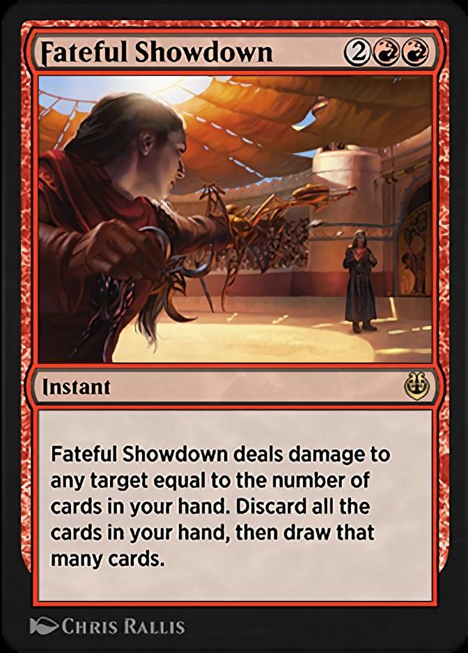 Fateful Showdown [KLR]
