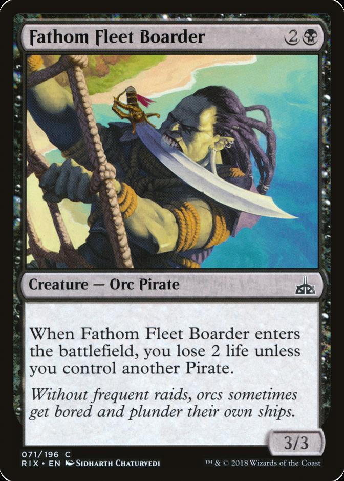 Fathom Fleet Boarder [RIX]