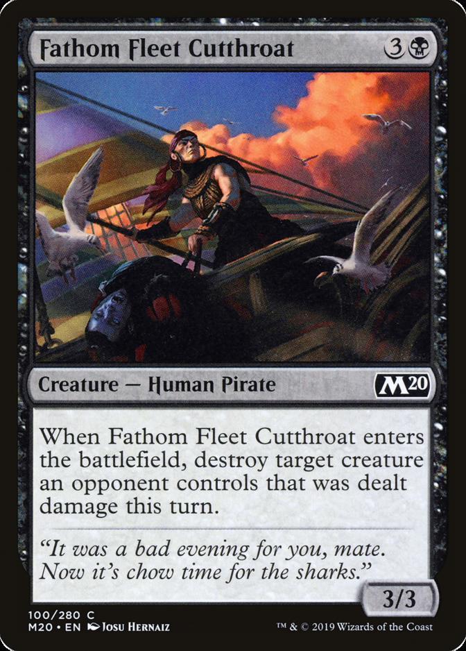 Fathom Fleet Cutthroat [M20] (F)