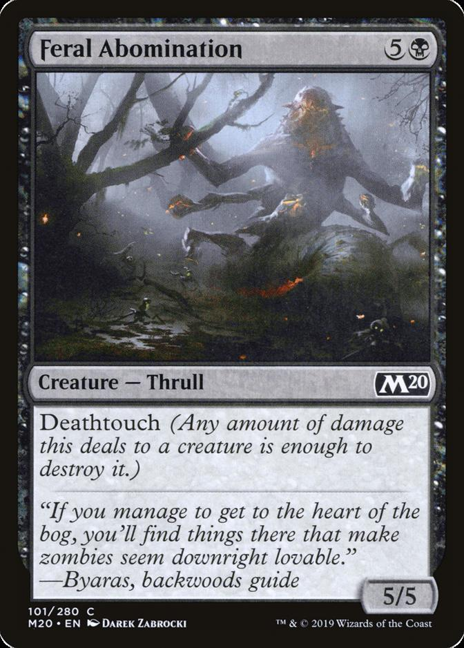 Feral Abomination [M20]