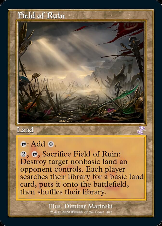 Field of Ruin <timeshifted> [TSR]